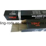 De Verbruiksgoederen van het Lassen van het Type van Stok van Aws E6013 van Toko