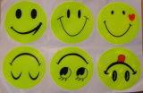 Autoadesivo riflettente di sicurezza degli autoadesivi Smiley riflettenti (YLS01)
