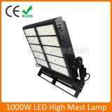 18m/20m/30m de 1000W proyector LED Lámpara de mástil alto