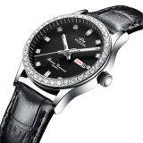 De Douane van de fabriek Dame Diamond Quartz Watch