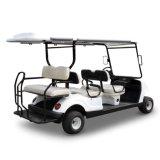 贅沢で白いカラー電気ゴルフカート