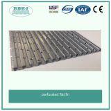 Высокоточный алюминиевый плоский перфорированную пластину для теплообменника
