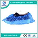 Chaussures imperméables en plastique jetables couvercle PE