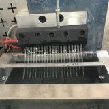 La extrusora de plástico de doble tornillo que hace la máquina de pellets