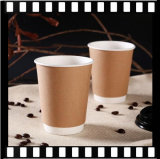 Custom 8 унции 12oz 16oz двойные стенки кофе чашку Wholesales бумаги