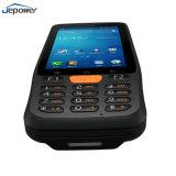 O WiFi 4G, 3G NFC Bluetooth do leitor de RFID portátil Scanner de código de barras 2D Pdas