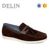 Los hombres el diseñador de calzado informal, de alta calidad de los hombres Loafer Slip-on los zapatos, zapatos Moccasin llegan nuevos hombres