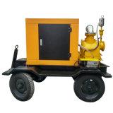頑丈なトレーラーによって取付けられるディーゼル機関の自己の起爆剤の水ポンプ