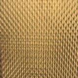 304 ha impresso lo strato dell'acciaio inossidabile con colore di titanio del rivestimento dell'oro