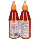 Botellas de 500g pasta de pimiento caliente Sambal Oelek picante salsa de chile