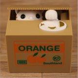 Panda Estilo Criativo Estola Automática de brinquedos para crianças Mealheiro moedas