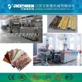 Perfil de la hoja de mármol imitado de PVC que hace la máquina con un bajo precio