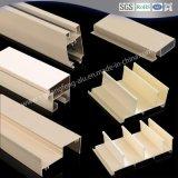 China Industrial personalizada gran riel de guía lineal de extrusión de perfiles de aluminio 6063