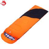 Im Freien wasserdichter kampierender Gang--5 Celsius Orange/Blau-/Armee-grüner Schlafsack