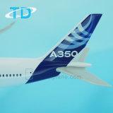 Airbus A350 House Modelo de Plano de plástico de cor