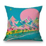 油絵のホーム装飾(35C0305)のためのデジタルによって印刷される枕クッションカバー