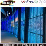 L'utilisation commerciale P7.81 l'intérieur d'affichage Transparent