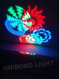 Licht van het Effect van 8 Ogen van de Disco van de Partij van Kerstmis het Lichte Lichte Lichte