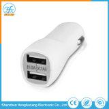 Индивидуальный логотип печать 5V/2.1A Двойной автомобильный USB зарядное устройство для мобильных телефонов