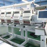판매를 위한 신식 4대의 헤드에 의하여 사용되는 형제 자수 기계
