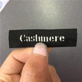 De Alta Densidad personalizado 1.6*5.8cm principal Etiquetas ropa etiquetas tejidas
