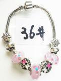 Armband Ref van de Charme DIY van vrouwen de Echte Zilveren Geplateerde Met de hand gemaakte: P 036