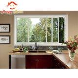 Manufactura de vidrio de seguridad de China Popular de la ventana de aluminio/aluminio