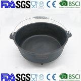 Preseasonedの鋳鉄のダッチオーブン4.5qt BSCI、LFGBの承認されるFDA