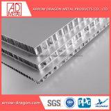 Revêtement en poudre en aluminium anticorrosion Honeycomb haute résistance des panneaux pour les systèmes d'affichage/ Conseil d'exposition