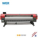 ISO3202 Wer-Es CE APPROUVÉ DX5 3,2 m de la tête d'impression Meilleure imprimante éco solvant