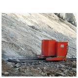 La fune metallica del diamante della cava ha veduto la macchina per la trincea in roccia