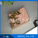Strato dell'acciaio inossidabile di Emobssed del 201 grado per la decorazione