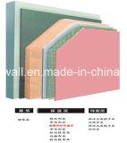 Isolation de construction de murs d'aluminium panneau phénolique 100mm