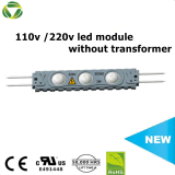 Новый тип светодиодный модуль AC 110 В 220V подсветка LED рекламного модуля