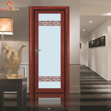 二重ガラスが付いているアルミニウムかアルミ合金の浴室の開き窓のドア