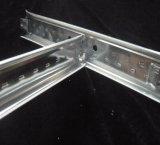Dissimulée fibre minérale fissurée des panneaux de plafond (2'*2'14mm)