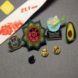 記念品のギフトのためのカスタム金属のローズの花の紋章のバッジのヒマワリの折りえりPin