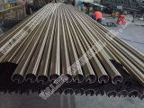 Tubo oval del acero inoxidable (AISI304)