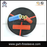 Pyrojack Fire Sleeve Silicone Rubber Coated Fiberglass Insulation Sleeving