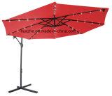 Solarregenschirm des 3m Bananen-hängender Regenschirm-LED