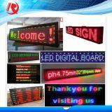 Haciendo publicidad del módulo rojo/blanco/amarillo del panel de visualización de LED P10 del LED
