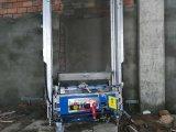 Geeft het Automatische Cement van het roestvrij staal de Machine van het Pleister van de Muur terug