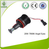 L'indicatore luminoso dell'automobile del CREE LED con l'angelo Eyes 12V 20W 7000k