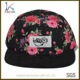 Cappello all'ingrosso della protezione del comitato di stampa 5 di sublimazione del fiore del bordo della pelle scamosciata