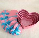 جديدة أسلوب رفاهيّة قلب شكل شوكولاطة يعبّئ صندوق مع فرجارالتقسيم