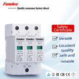パワー系統AC385V 2p 3p 40kaのサージの回線保護装置SPD