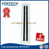 Slot de alimentação de difusor linear difusor de ar Linear Grelha de alumínio