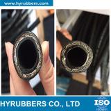 La norme DIN EN 853 Câble tressé le flexible hydraulique 2sn flexible en caoutchouc