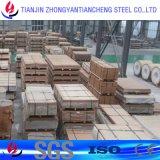 Plaque en aluminium roulée 5052 5083 Almg2.5 avec le PVC en stock en aluminium