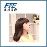 Мягкие и ровные 22 дюйма парик человеческих волос 120 грамм половинный